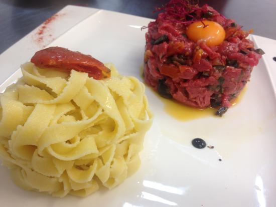 Le Garganico : # tartare de boeuf à l'italienne #