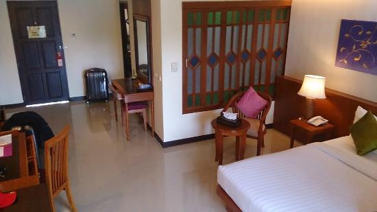 Khaolak Orchid Beach Resort: unser Zimmer