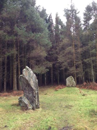 Rothesay, UK: Stones