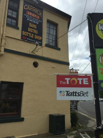 Carrick, Australia: Beware this sign