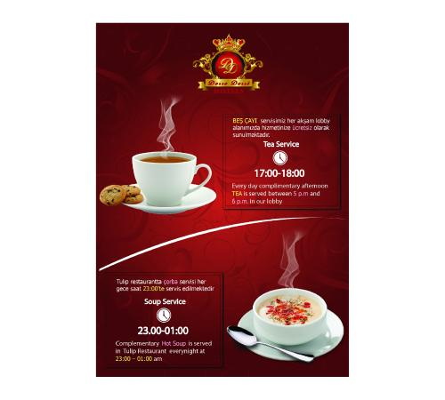 Dosso Dossi Hotel Old City : Tea Time & Soup Time