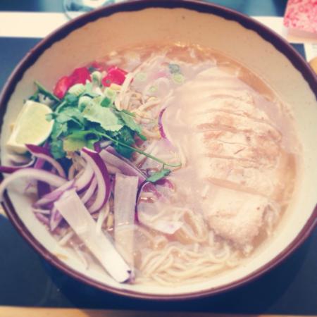 Wagamama: Chicken chilli ramen