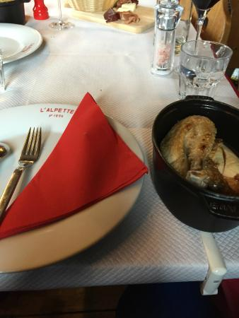 Restaurant L'Alpette : Lunch
