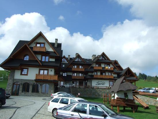 Hotel Zawrat Ski Resort & SPA: centralnie.