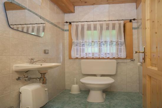 Innerkrems, Austria: Toilette im Familienalmhaus Gasser