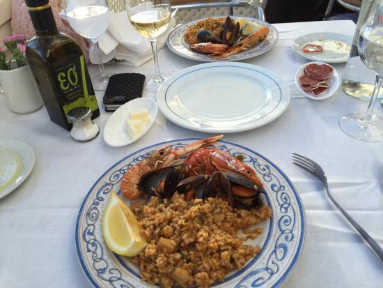 Mare Nostrum : The paella.