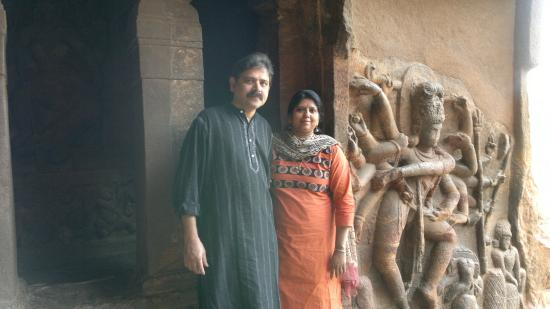 Badami, Inde : artistic marvel on rocks