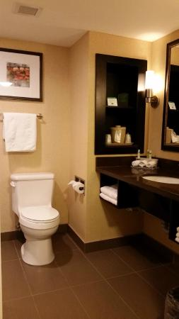 Holiday Inn Express Hotel And Suites Timmins : Bathroom: not shown here was the shower room