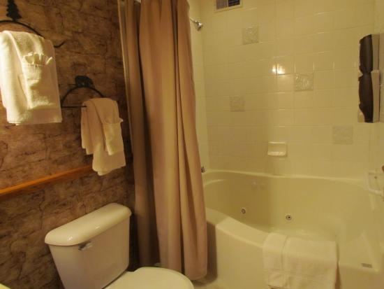 Cedar Lodge & Settlement: Master Villa Bath