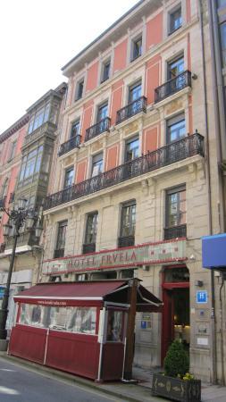Hotel Fruela: Edificio del hotel