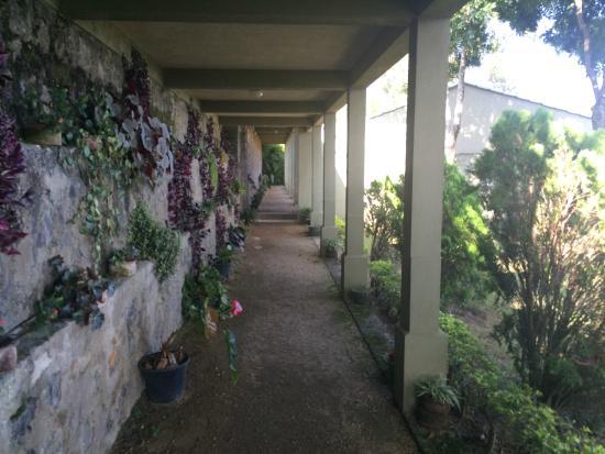Ambiente: Couloir d'accès à la chambre