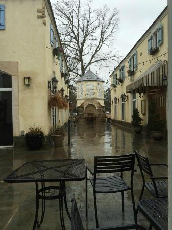 outside Driftwood windows, quaint Lafayette Village - Picture of ...