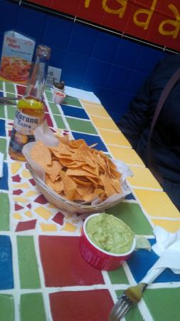 Ahora Restaurant Mexicain: Guac/Chips