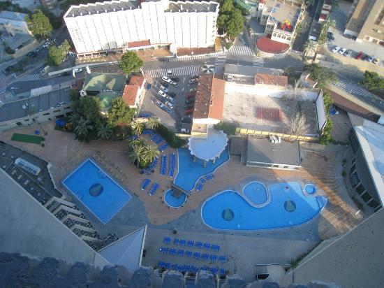 Las piscinas picture of gran hotel bali grupo bali for Piscinas actur