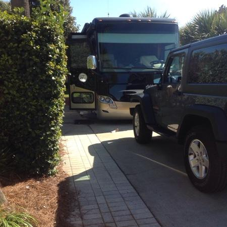 Destin RV Resort : site 22 January 2015