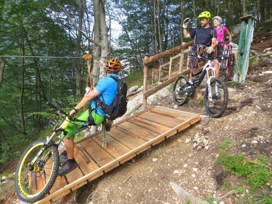 Mountain Bike Galaxy: Zipbike adventure