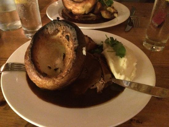 Blue Ball Restaurant : Perfect