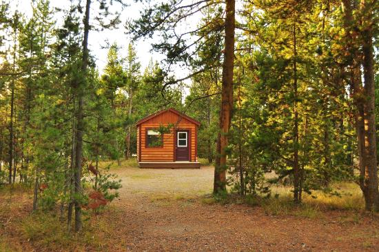 inside cabin picture of headwaters lodge cabins at