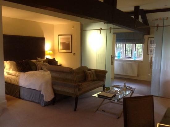 The Slaughters Manor House: Deluxe Room called Elm in Coach House