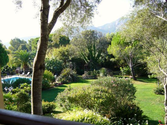 Residence A Merula: Blick vom Balkon