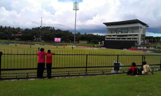 Pallekele International Cricket Stadium : Cricket -  Sri Lanka - Engeland 3