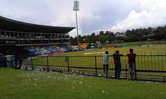 Pallekele International Cricket Stadium : Cricket - Sri Lanka -  Engeland