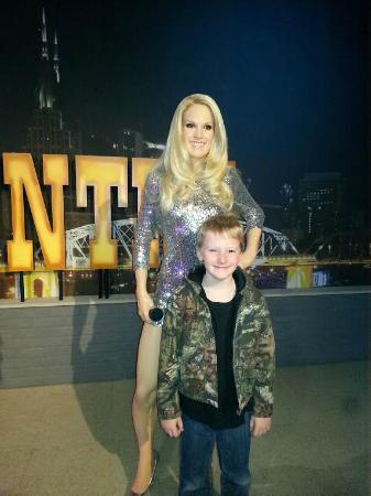 Hollywood Wax Museum Carrie Underwood