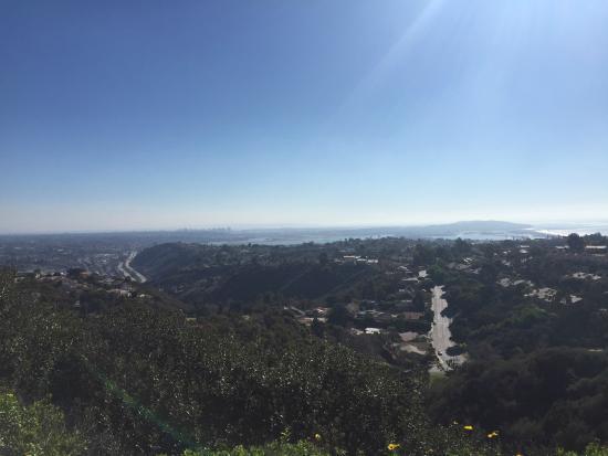 Coastal San Diego Tours to La Jolla & Torrey Pines with TourGuideTim: View from Mount Soledad