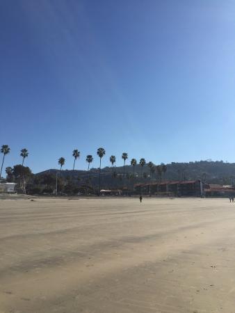 Coastal San Diego Tours to La Jolla & Torrey Pines with TourGuideTim: Looking NE from La Jolla Shores Beach