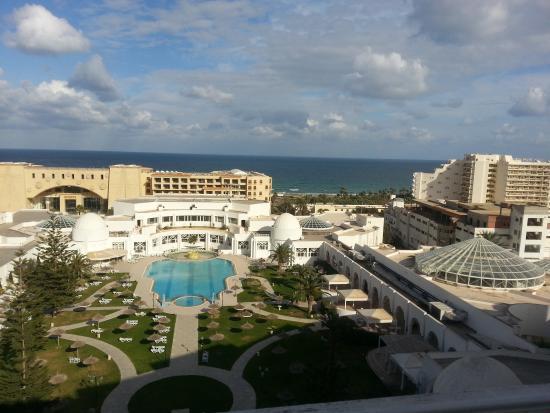 Tej Marhaba Hotel: Sea view side
