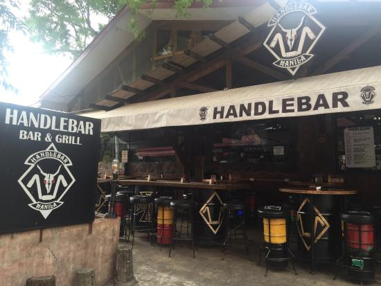 Handle Bar & Grill: Front