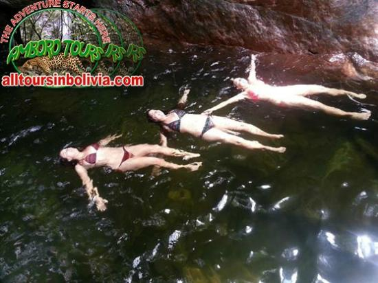 Amboró National Park: Nice ladies in Amboro park