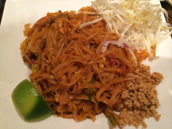 Royal Thai Cuisine : Pad Thaï au bœuf