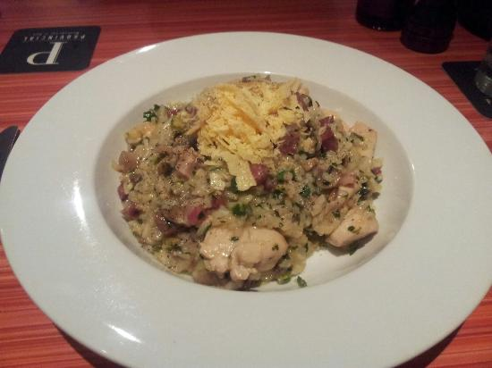 Provincial Restaurant: Beautiful chicken risotto