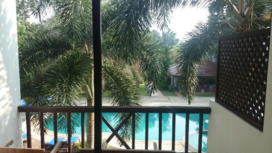 Chang Buri Resort and Spa: Вид из окна