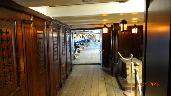 Interior Of Ship Picture Of Hms Victory Portsmouth