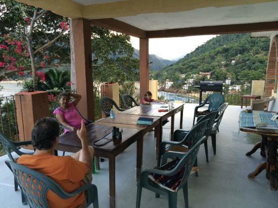 Casa La Loma en Yelapa: Dining Patio