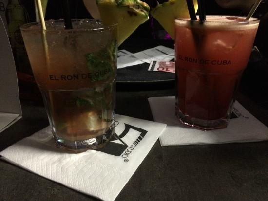 Studio 54 Cocktails & Pintxos Bar : supers cocktails