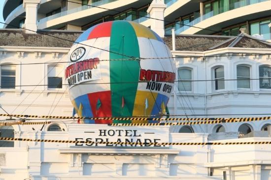 Esplanade Hotel: Hotel Esplanade.