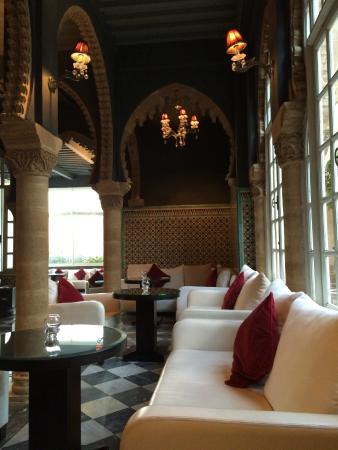 Hotel la Tour Hassan: le magnifique bar