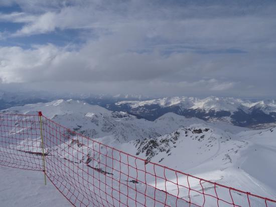 La Plagne Ski Resort: vu du glacier