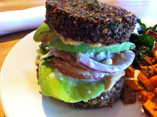 Inside Out Quinoa Burger 1 - Picture of True Food Kitchen ...