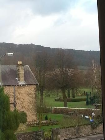 Avenue House Bed & Breakfast: The view from our window. (Jan 2015)