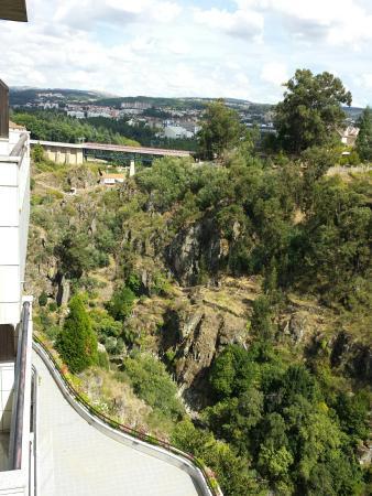 Hotel Miracorgo: Vista da sacada do hotel