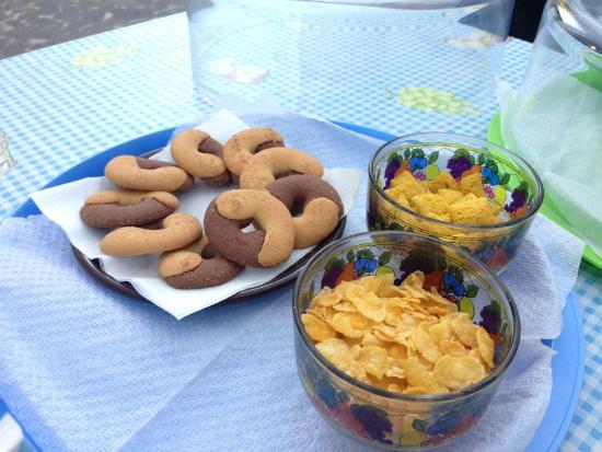 Il Pozzo e il Mare: Breakfast options!