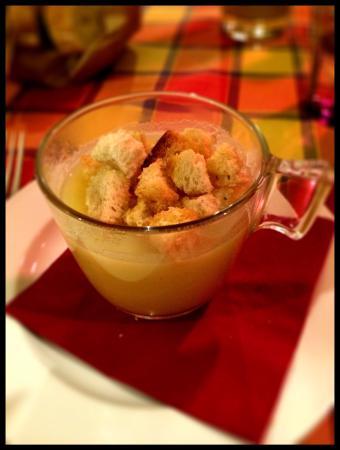 Il Porfido: Zuppetta di patate di Benvenuto!
