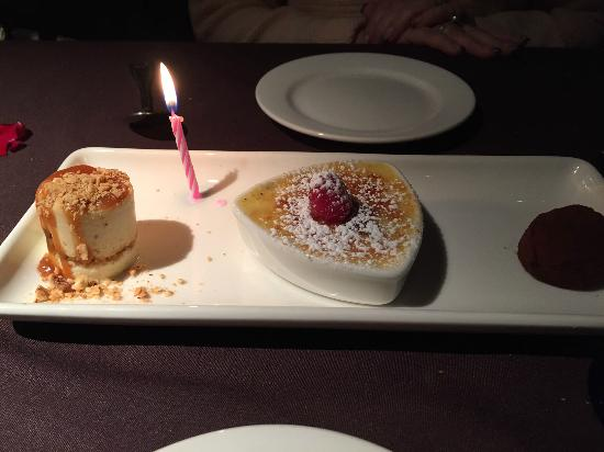 Perry's Steakhouse & Grille: Dessert Trio