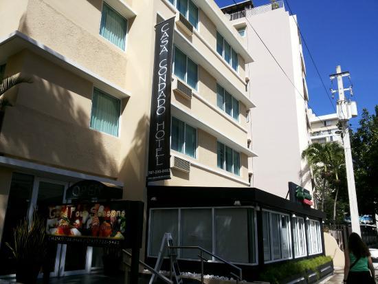 Casa Condado Hotel: Faixada do hotel