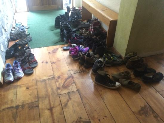 La Casa Verde- Eco Guest House: Shoes!!!