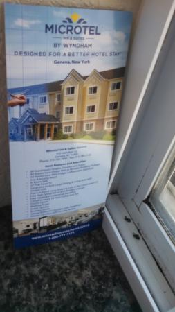 Microtel Inn & Suites by Wyndham Geneva: Health Code Violation